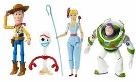 "Disney Pixar Toy Story 4 Adventure 4-Pack 7"" Figures Toy Story Adventure... - $44.50"