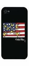 Case Scenario Keith Haring US Flag iPhone 4/4S Clip On Protective case