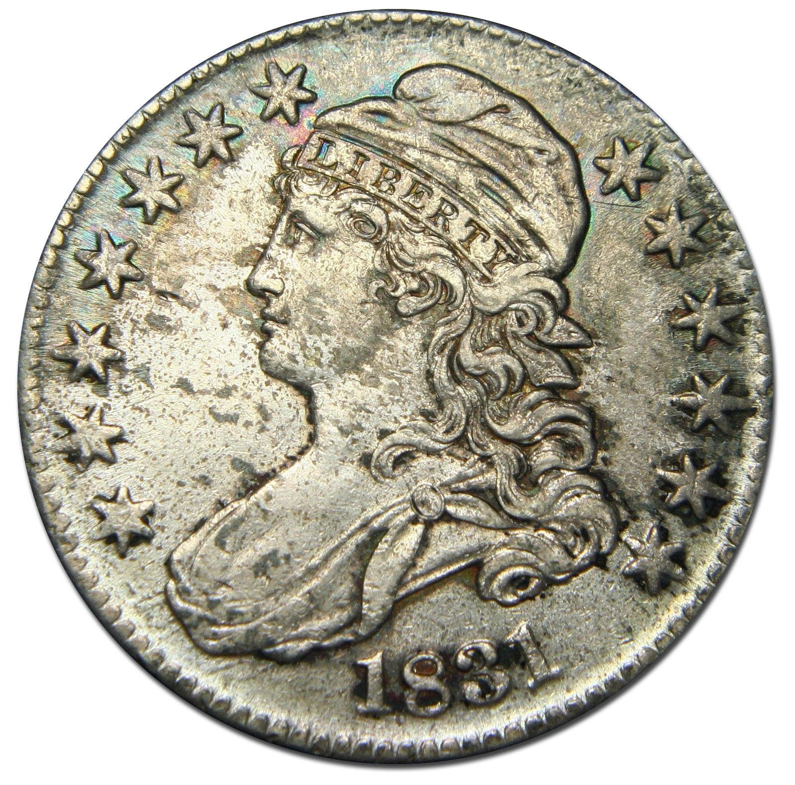 1831 Capped Bust Half Dollar 50¢ Coin Lot# MZ 2645