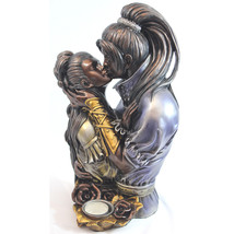 "Vintage Candle Holder Lover Art 12"" High Quality Resin Statue Sculpture ... - $49.99"