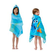 Kids Hooded Bath Towel Cotton Finding Dory Toddler Girl Beach Pool Bathrobe - $27.69