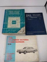 1991 Ford Crown Vic & Mercury Grand Marquis Shop Repair Service Manual Set OEM - $19.79