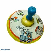 Ohio Art Spinning Toy Top Metal Circus Train Animals 304B177 Made in USA - $19.99