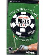 PSP The Offical World Series Of Poker - $9.00