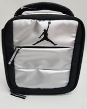 d62bd1ab97d Nike Air Jordan Jumpman Soft School Insulated Lunch Tote Bag Box Metalli...  -