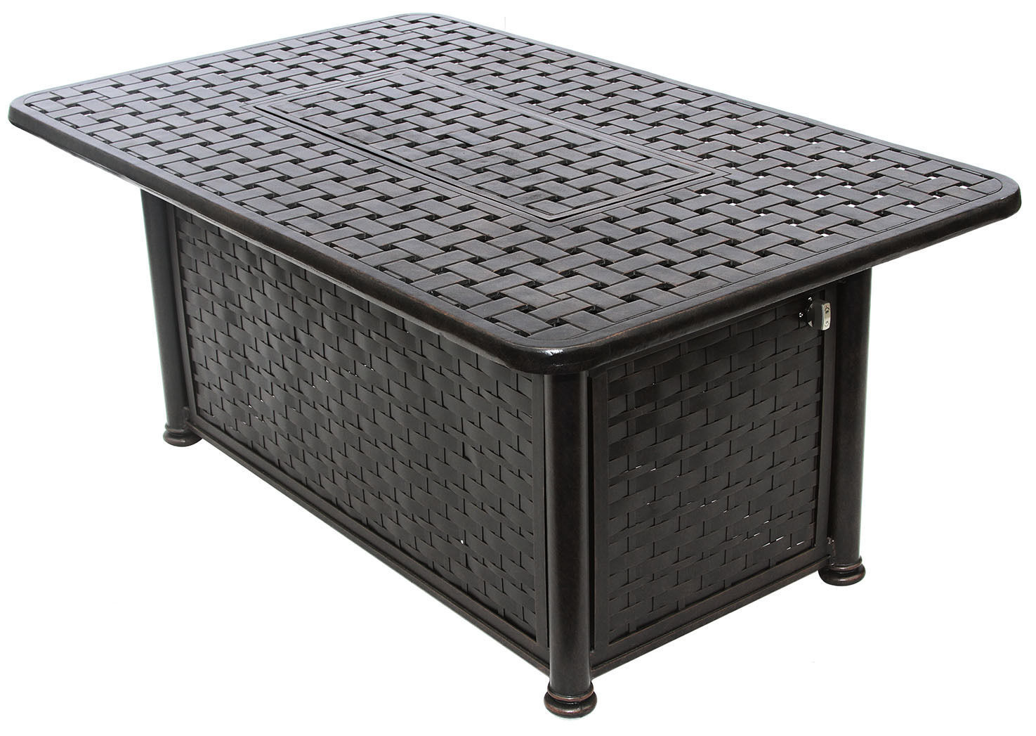 """OUTDOOR PATIO 36"""" X 58"""" RECTANGE FIRE PIT - SERIES 7000 image 2"""