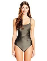 Calvin Klein Women's Over the Shoulder Draped Starburst One Piece Swimsu... - $139.70+