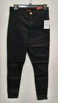 GUESS Factory Women's Nova Ultra High-Rise Curvy Skinny Jeans BLACK SIZE 28 - $18.99