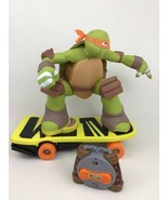 Teenage Mutant Ninja Turtles Remote Control Skateboard R/C Toy Jakks 201... - $57.87