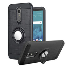 For LG Stylo 4 plus Rugged Armor Case Hybrid Cover With Ring Kickstand H... - $7.00