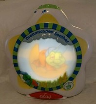 CRIB SOOTHER LeapFrog Dreamscapes Scrolling Screen Poems NIGHT LIGHT LEA... - $20.79