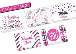 Thanks You Cards Bulk - Best Paper Greeting Cards for Wedding Birthday V... - $24.56