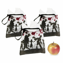 12 HALLOWEEN Party Favor Goody LOOT Treat ZOMBIE Walking Dead TOTES Tote... - $8.65