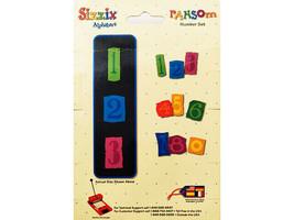 Sizzix Alphabars Ransom Number Set Dies #38-1089 image 2