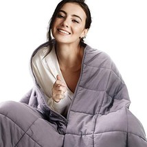 "Bedsure Weighted Blankets Adults 20lbs, 60"" x 80"", Queen Size - 100% Cot... - $93.11"