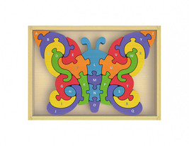 BeginAgain - Butterfly A to Z Puzzle - $23.95