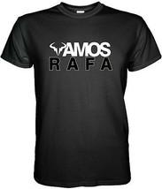New Vamos Nadal Rafael Nadal Black White T Shirt Tennis Wimbledon S - 3XL - $14.90+