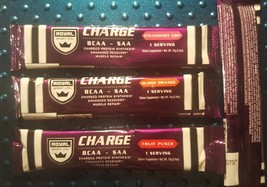 Royal Sport LTD. CHARGE BCAA-SAA variety of 24 serving lots in single po... - $12.99