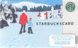 Starbucks 2007 Winter Walk Collectible Gift Card New No Value - $4.99
