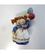 Enesco Cute As A Button Carnival Kid with Balloons -Artist Mary Rhyner -... - $11.99