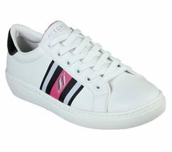 Skechers Shoe Women White Pink Memory Foam Comfort Comfort Fashion Sneaker 73814 - $24.99