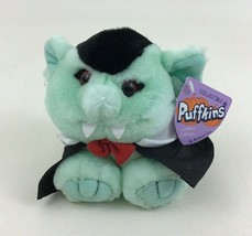 "Puffkins Halloween Count The Vampire Collectible 4.5"" Bean Bag Plush Stu... - $13.32"