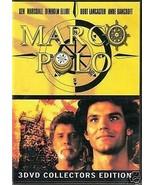MARCO POLO - Burt Lancaster, Anne Bancroft -  3 DVD 450 min BOX SET NEW - $13.76