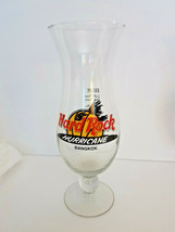 Hard Rock Cafe Bangkok  Hurricane Cocktail Drink Bar Glass  with Recipe ... - $9.90