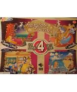 Fairytale Puzzles Mega 4 Pack by Grafix 45 pc each puzzle 3 yrs+ 2010 - $13.36