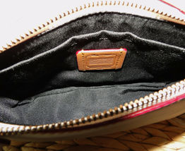 Coach X Disney Mickey Ears Leather Wristlet Ltd Edition Collection Chalk image 9