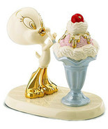 Lenox Tweety's Sweet Treat Looney Tunes Tweety Bird Figurine New In Box - £55.86 GBP