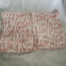 Aden + Anais Pink White Hearts Print Baby Blanket Muslin Cotton Swaddle ... - $31.63