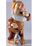 Extremely Rare! Walt Disney Snow White Sneezy with Lantarn Big Figurine ... - $495.00