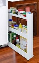 Slide Out Storage Utilize Tight Spaces Kitchen Garage Bathroom Laundry W... - $33.82