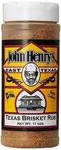 John Henry's Texas Brisket Rub 11 0z. image 1