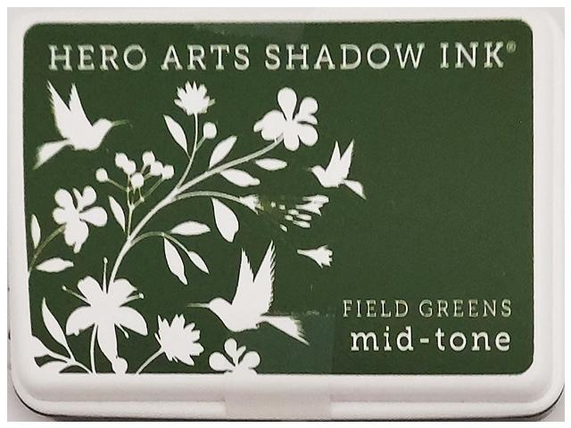 Hero Arts Shadow Ink Field Greens Mid-Tone Ink Pad