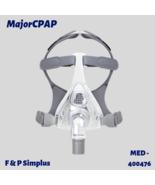 F&P Simplus Full Face Cpap Mask Size Medium 400476 w/ Headgear - $81.99