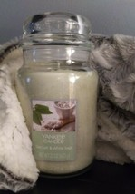 Yankee Candle SEA SALT & WHITE SAGE 22oz One Wick Candle  - $25.74