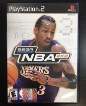 NBA 2K2 Sega Sports (Sony PlayStation 2, 2002) Complete - $6.43
