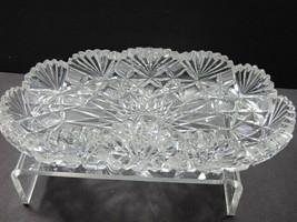 Cut glass ABP Brazilian tray Antique  - $120.27