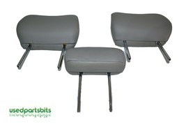 05 06 Toyota Tundra XSP Double Cab Rear Seat Leather Headrest Set Gray O... - $140.24