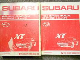 1989 Subaru Xt Service Repair Shop Manual Set Factory Oem Books Rare 89 - $118.75