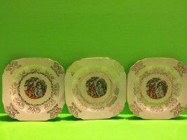 Lot Of 3 Vintage Royal China 22KT Gold Collectible Plates Gift - $14.03