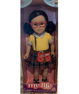 My Life As 18-inch Poseable Foreign Language Tutor Doll, Brunette New in... - $37.83