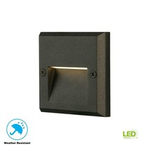 Hampton Bay Black Integrated LED Deck Light JAO2601LL - €12,91 EUR