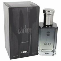 Ajmal Carbon by Ajmal 3.4 oz 100 ml EDP Spray for Men New in Box - $32.25