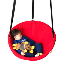 Hanging chair disc hammock swing for indoor and outdoor, Svava Relax Sea... - $99.90