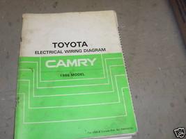 1986 Toyota Camry Electrical Wiring Diagram Troubleshooting Manual EWD OEM - $23.71