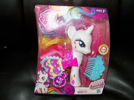 My Little Pony Rarity Rainbow Power Fashion Style Pony with comb 2013 HT... - $31.20