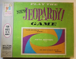 Jeopardy Game 5th 1964  #4457 Milton Bradley Company Griffin Production ... - $18.65